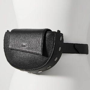 Hammitt🌼NWOT🌼Neil belt bag leather black